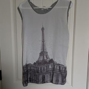 Eiffel tower tank